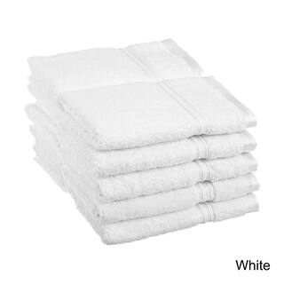 Superior Plush & Absorbent 600 GSM Combed Cotton Washcloth (Set of 10) (2 options available)