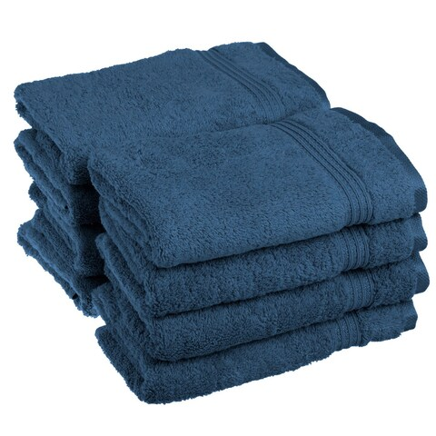 Superior Plush and Absorbent 600 GSM Combed Cotton Hand Towel (Set of 8)