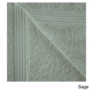 Superior Collection Luxurious 100-percent Premium Long-staple Combed Cotton Hand Towel Set (Set of 8)