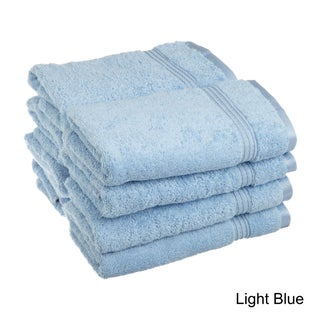 Superior Plush and Absorbent 600 GSM Combed Cotton Hand Towel (Set of 8) (2 options available)