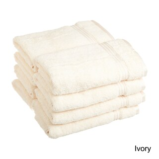 Superior Plush and Absorbent 600 GSM Combed Cotton Hand Towel (Set of 8) (Option: Ivory)