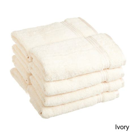 Superior Absorbent Egyptian Cotton 600 GSM Hand Towel (Set of 8)