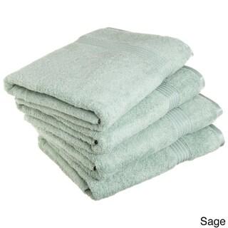 Superior Plush & Absorbent 600 GSM Combed Cotton Bath Towel (Set of 4)