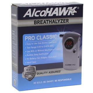 Alcohawk Q3i-11000 PRO Classic Digital Breath Alcohol (Tester)