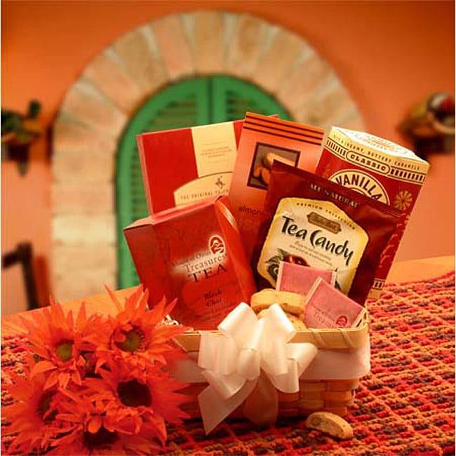 'Afternoon Tea Delights' Gift Basket