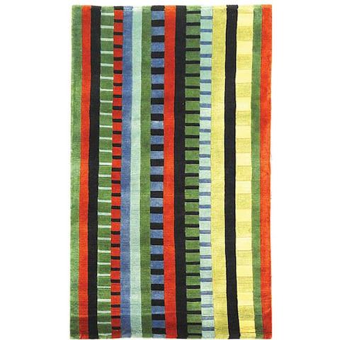 SAFAVIEH Hand-knotted La Carta Pile Heliette Modern Wool Rug
