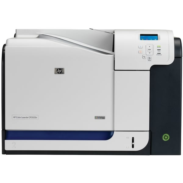 Shop HP LaserJet CP3500 CP3525N Laser Printer - Color - 1200 x 600 dpi Pri - Free Shipping Today ...