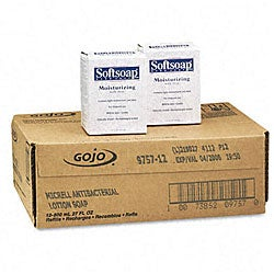 Softsoap Antibacterial Lotion Soap Refill (Pack of 12)