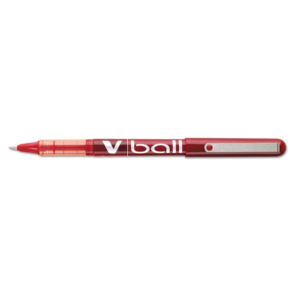 Pilot Vball Red Liquid Ink Extra-Fine-Point Rollerball Pens (Pack of 12)