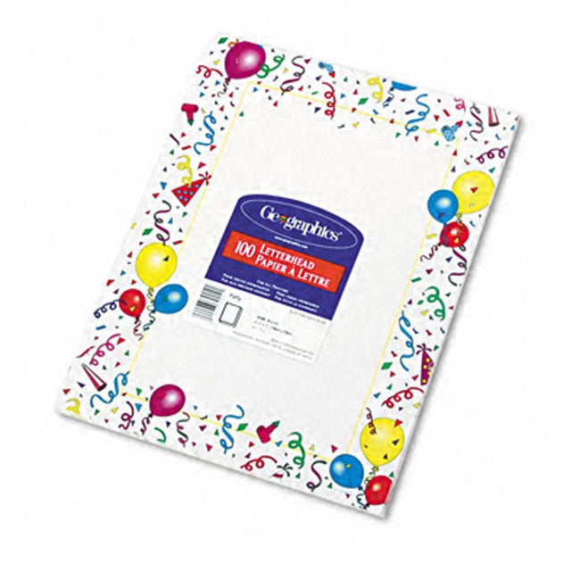 Geographics Design Letterhead (Box of 100 Sheets) (Geogra...