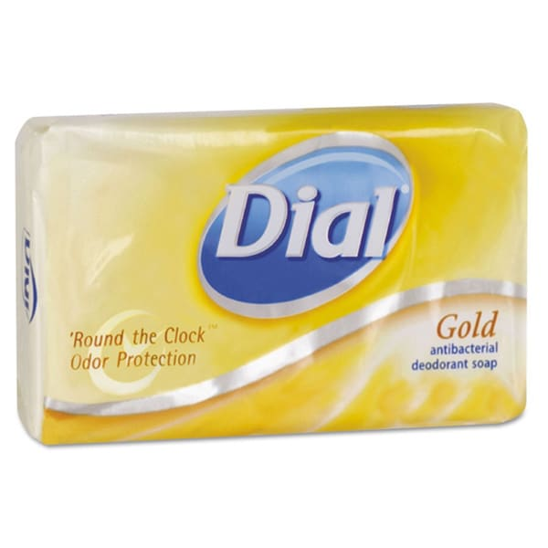 Dial Antibacterial Deodorant 3.5-oz Bar Soap (Pack of 72)