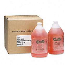 Micrell Antibacterial Lotion Soap (Pack of 4)