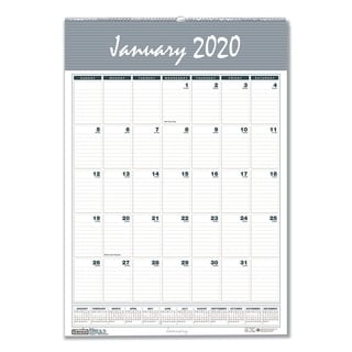 House of Doolittle Recycled Bar Harbor Wirebound Monthly Wall Calendar, 22 x 31 1/4, 2018