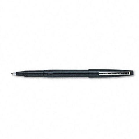 Pentel Rolling Writer Rollerball Black Ink Pens (Pack of 12)