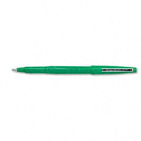 Pentel Writer Green Rollerball Pens (Pack of 12)