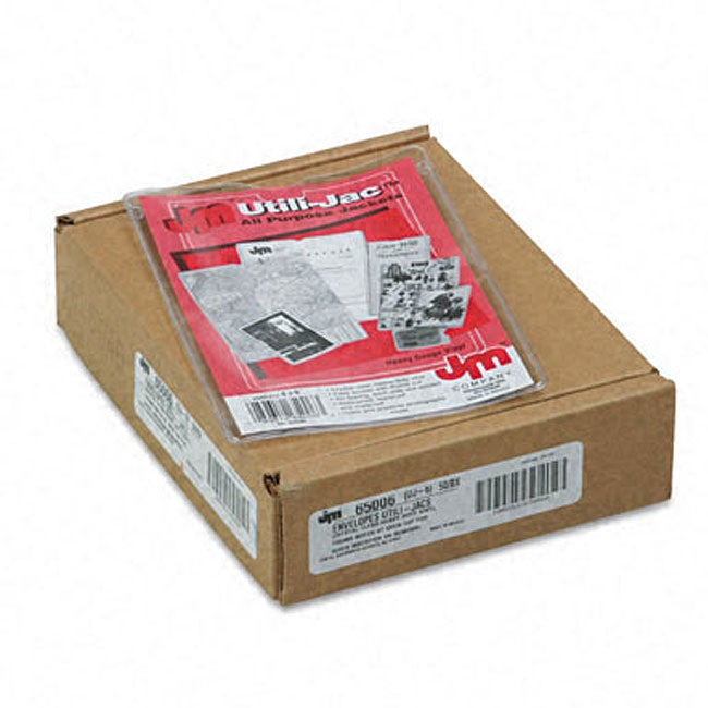 Esselte Utili Jac Vinyl 4x6 Inch Envelopes Pack Of 50