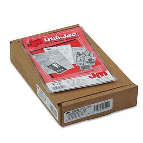 Esselte Utili-Jac Vinyl 5x8-inch Envelopes (Pack of 50)