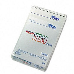 Prism 6x9-inch Ruled Steno Notebook (Pack of 4)