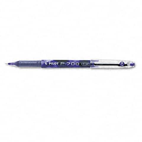 Pilot P-700 Purple Gel Ink Rollerball Pens (Pack of 12)