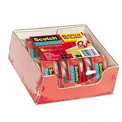3M Packaging Tape & Dispenser (Case of 6 Rolls)