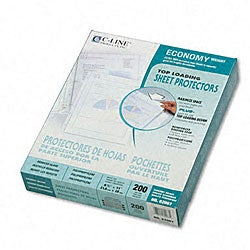Top-loading Poly Sheet Protectors (Pack of 200)