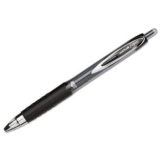 Uni-Ball Gel 207 Black Rollerball Pen (Pack of 12)