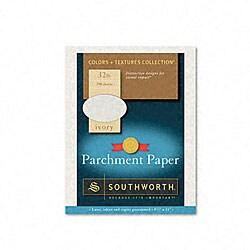 Colors+Textures Ivory Parchment Paper (Case of 250)