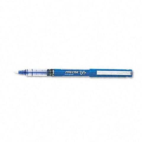Pilot Precise Blue V7 Rollerball Pens (Pack of 12)