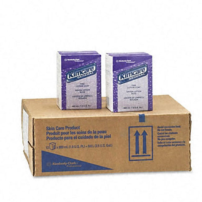 Kimberly-Clark Pink Lotion Soap (Pack of 12)