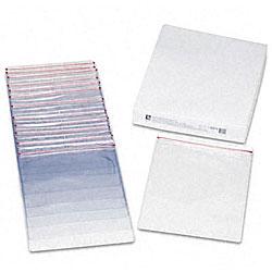Clear Vinyl Zip-Top Shop Ticket Holder (Box of 15)