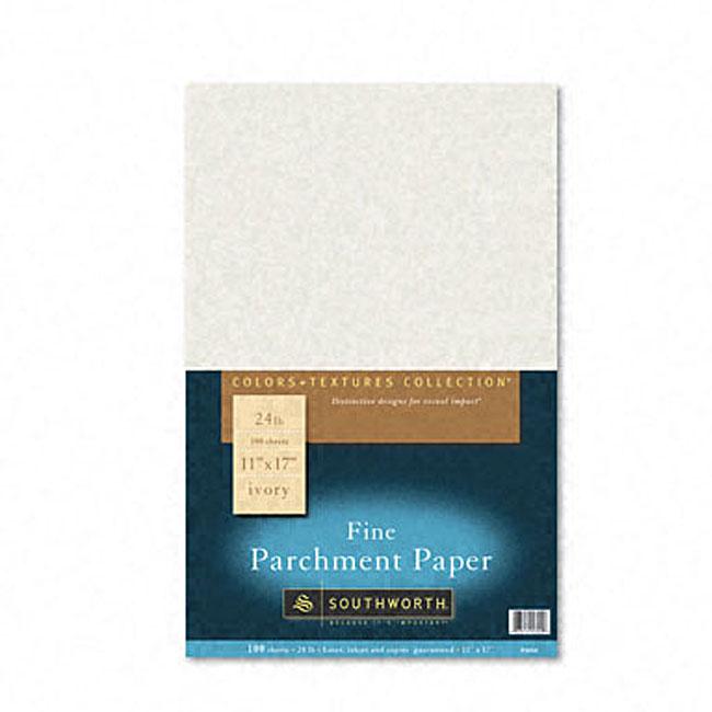 Colors + Textures Fine Parchment Paper (Case of 100)