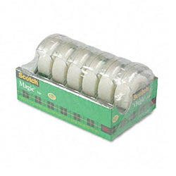 3M Magic Tape in Carded Dispenser (Pack of 6)