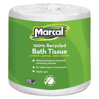 Marcal Recycled OnePly Bathroom Tissue Pack Of Free Shipping - Bathroom tissue on sale