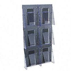 Deflecto Stand Tall 1-piece Literature Rack