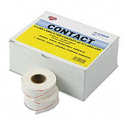 White 2-line Pricemarker Labels (Pack of 16)
