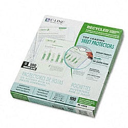 Top Load Poly Sheet Protectors (Case of 100)