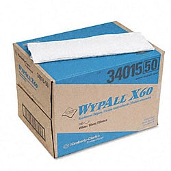 Kimberly-Clark WypAll X60 Wipers in Brag Box