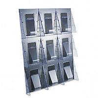 Deflecto Stand-tall 1-piece Literature Rack