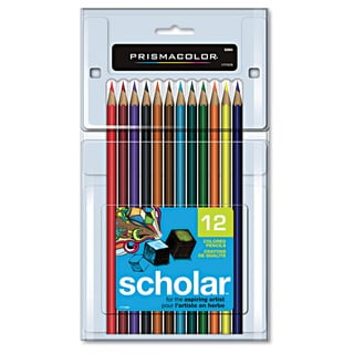 Prismacolor Scholar Colored Pencils, 12 Count