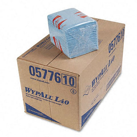 Kimberly-Clark WypAll L40 Quarterfold Wipers (Pack of 12)