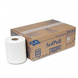 Sofpull White Center-pull Perforated Paper Towel Refills