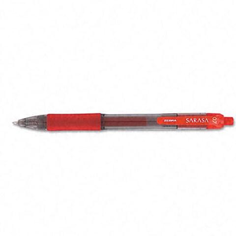 Sarasa Gel Red Rollerball Pens (Pack of 12)
