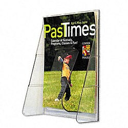 Deflecto Stand Tall Magazine Wall Pocket