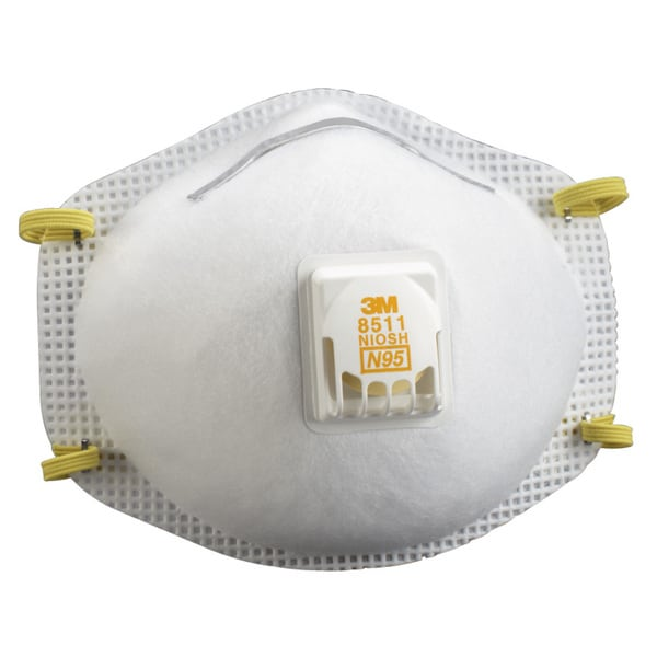 3M N95 Particulate Respirator (Pack of 10)