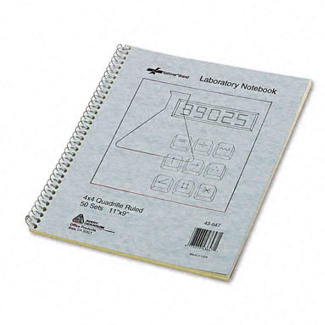 Wirebound Duplicate Laboratory Notebook