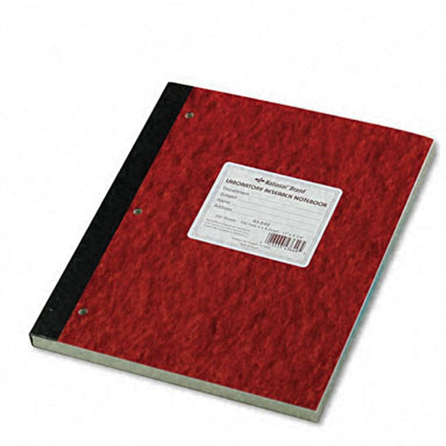 Stitched Duplicate Laboratory Notebook