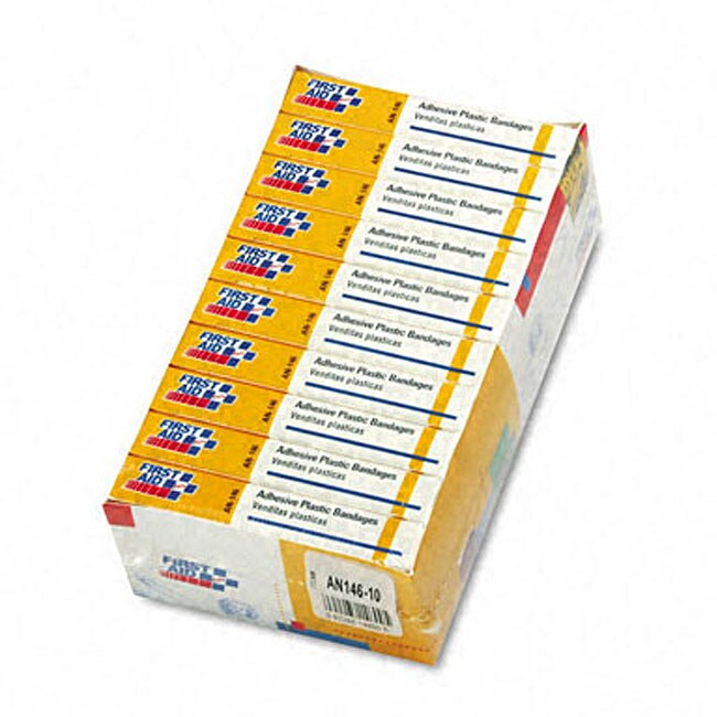 Refill Plastic Bandages (Pack of 160)