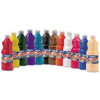 Prang Ready-to-use Tempera Paint (Pack of 12)