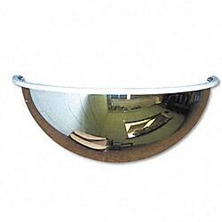 Half-dome Convex 18-inch Security Mirror