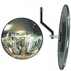 Round Convex 160-degree Security Mirror